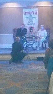 Lee Child interviewing Maj Sjowall