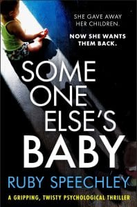 Upcoming Release Interview: Someone Else's Baby by Ruby Speechley